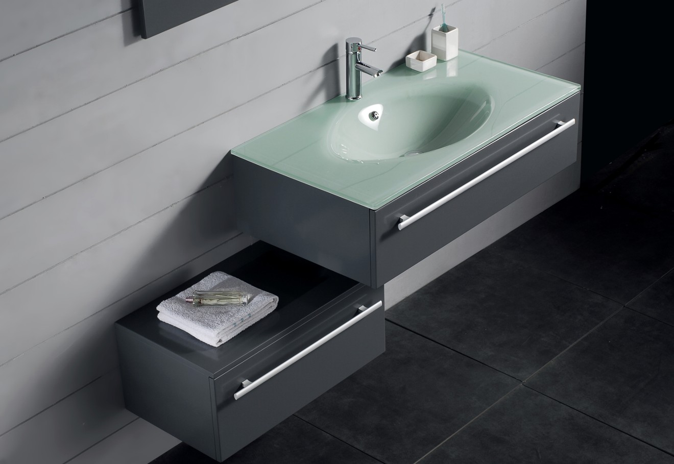 contemporary vanities bathroom cabinets kzn